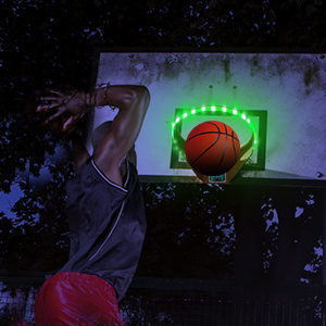 basketball light up hoop