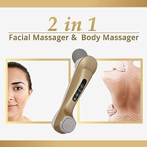 facial massager and body massager