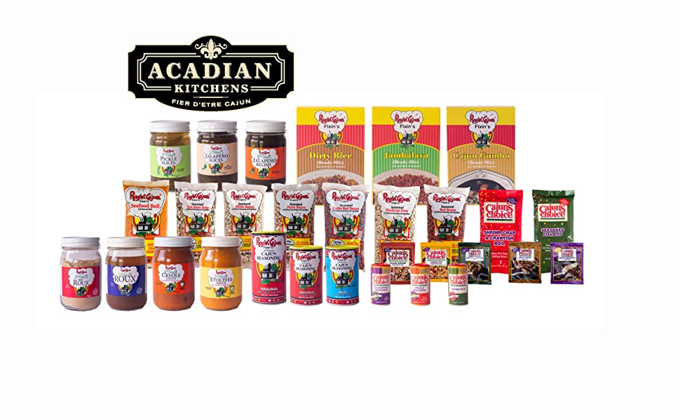 Acadian Kitchens Products