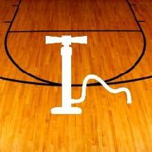 tangle nightball inflatable basketball pump led glow lightup sports balls basketball