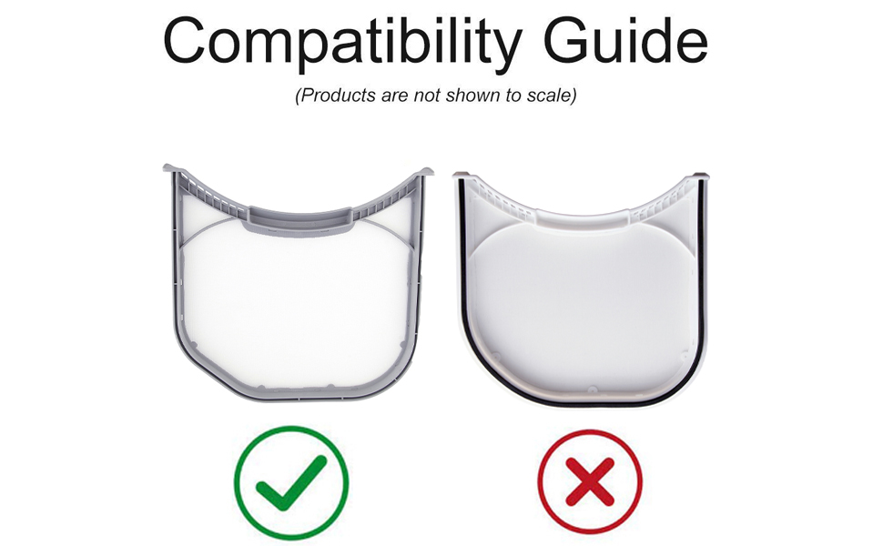 Adq56656401 Lint Filters for Lg And Kenmore Dryers, Replacement Part Numbers Ap4457244,1462822