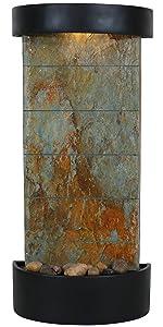slate facade indoor wall or tabletop fountain
