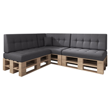 palettenkissen set outdoor günstig indoor sitzkissen auflage palettenpolster