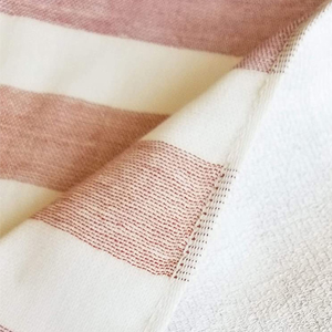 100% cotton piled and gauze hand towel is incredibly soft, comfortable and ideal for every day use