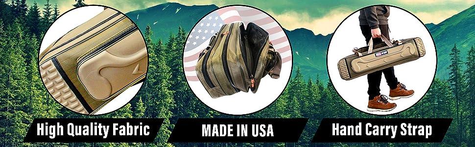 fishing rod bag high quality