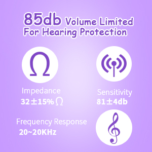 85db kids headphones