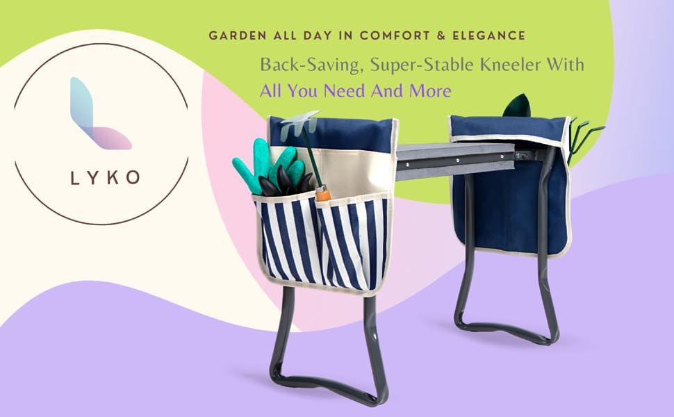 gardening stool Kneeling pad handicap gardening tools garden folding chair pad garden bench kneeling