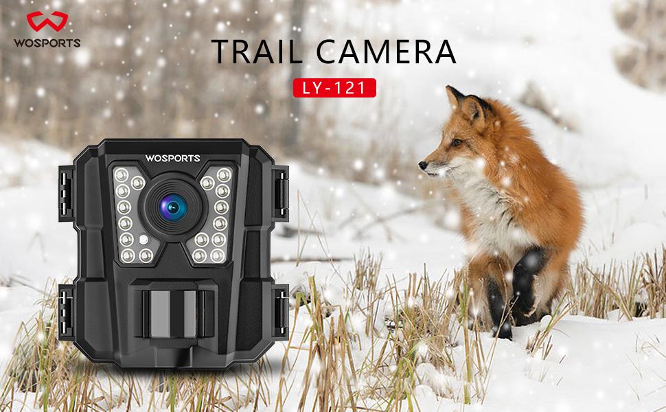 trail camera black