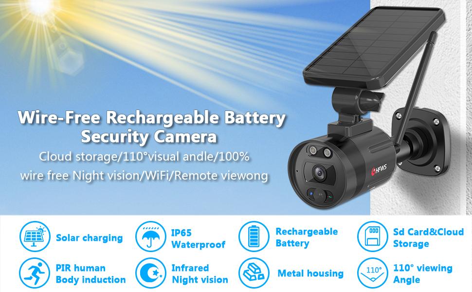 Güneş Güvenlik Kamerası