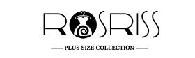 ROSRISS Women's Plus Size Floral Tops