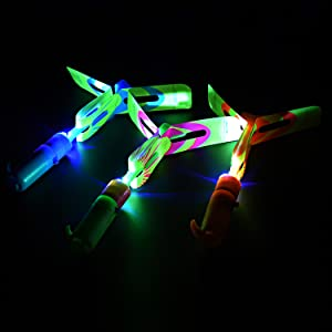 rocket copters rocket copters with led lights rocket copter slingshot for kids led slingshot rocket
