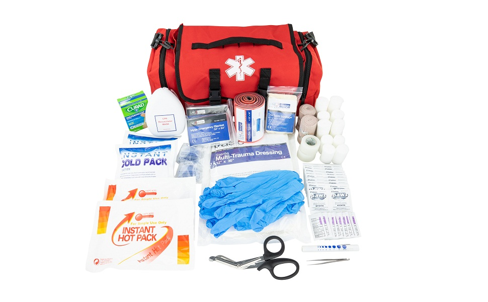 CPR supply 1st safety response disaster dressing office jump bandage care first aid kit health