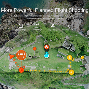 More Powerful Planned Flight Shooting