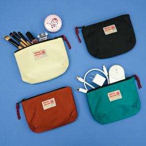 muti functional zipper pouch keeps your electronics accessories travel bottle makeup lotions tidy