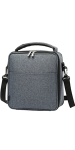 Simple and elegant single layer lunch bag
