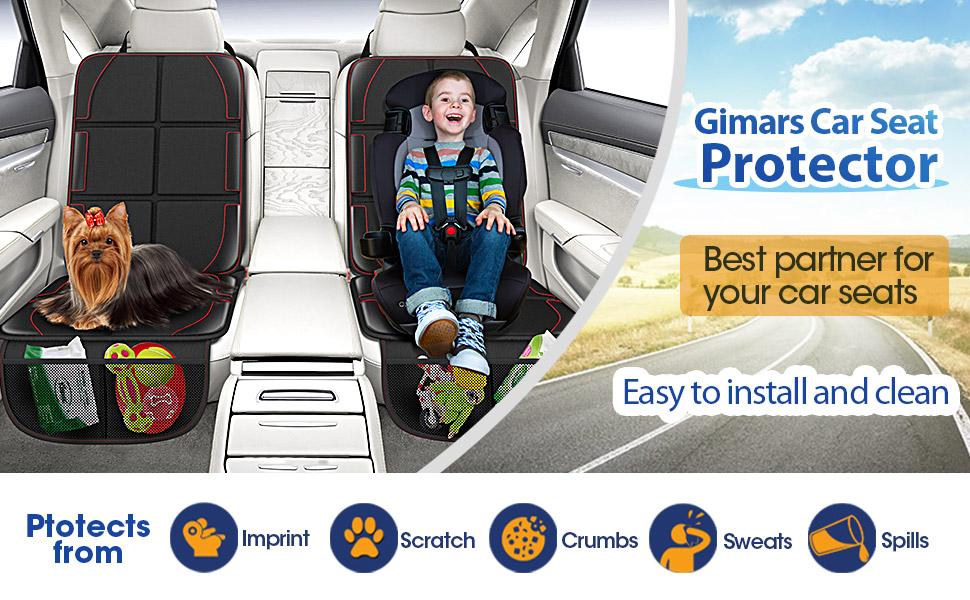 Gimars car seat protector