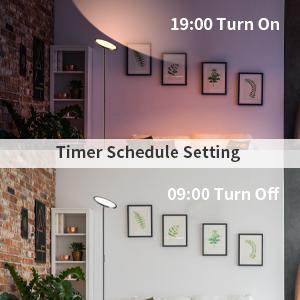 WiFi LED Floor Lamp