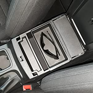 Ford Ranger center console tray