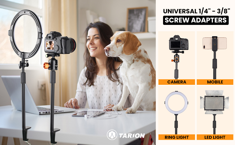 tabletop light stand