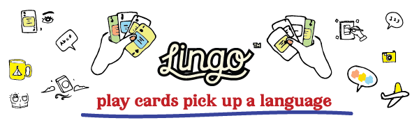 Lingo, Playing Cards, Travel, Gift, Language, Learning, Educational, Fun, Vocabulary, Sight, Flash