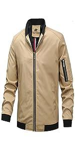 mens bomber jacket, men's windbreaker, lightweight jacket for men, bomber jackets for men,