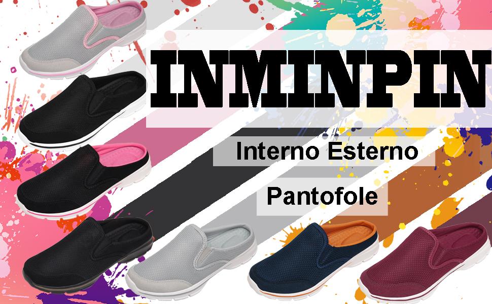 Interno Esterno Pantofole