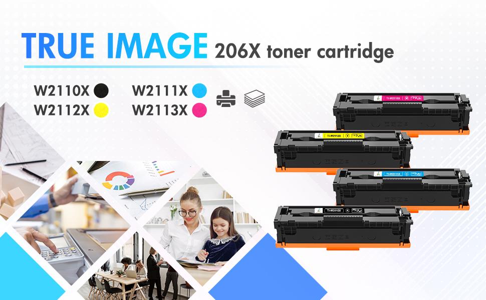 hp 206x toner cartridges