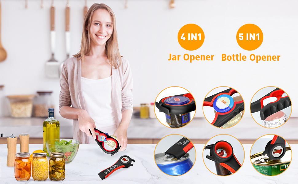 jar opener gripper bottle opener for seniors with arthritis