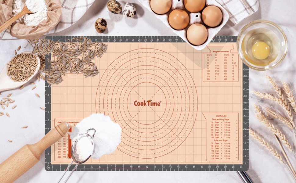 baking mat silicone pastry dough rolling mat fondant for baking