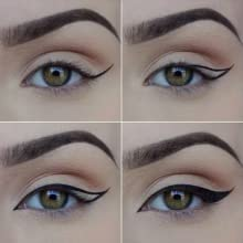 eye brush flat brush gel liner angle makeup brush