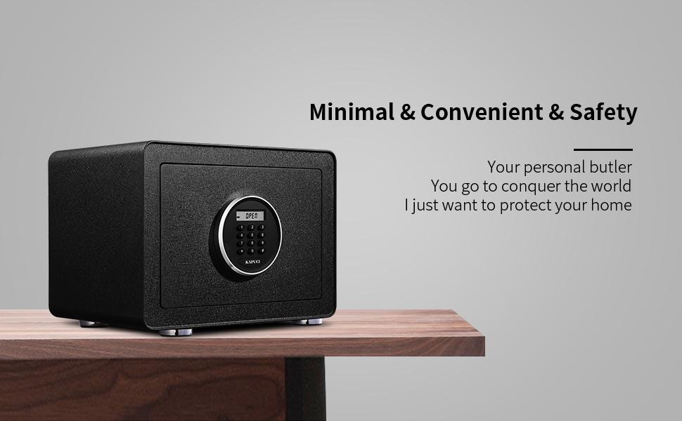 Minimal home safe