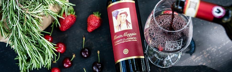 Chianti Classico Bio biologico italiano toscana DOCG Sangiovese Gallo Nero alta qualità vino rosso