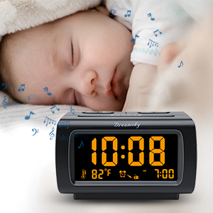 clock radio with alarm