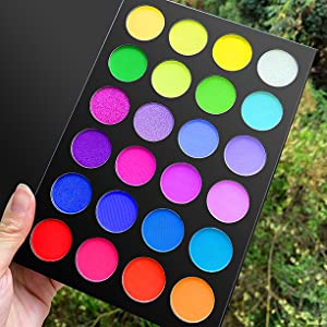 morphe eyeshadow palette 35O3 FIERCE BY NATURE ARTISTRY PALETTE