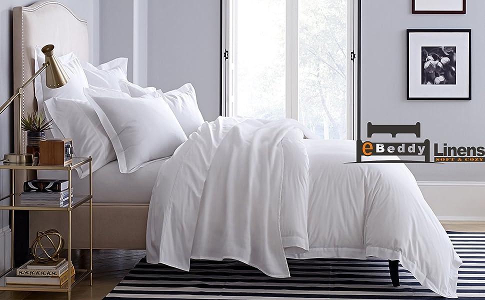 SALE 1000 TC Super Soft Satin Silk UK Size /& Color Solid Duvet Hotel Bedding/'s
