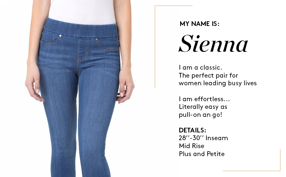 Liverpool Jeans Sienna Pull-On