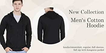 cotton hoodies for men