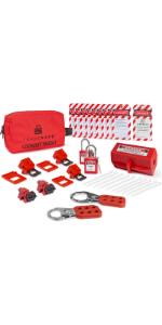 tradesafe loto kit for electrical