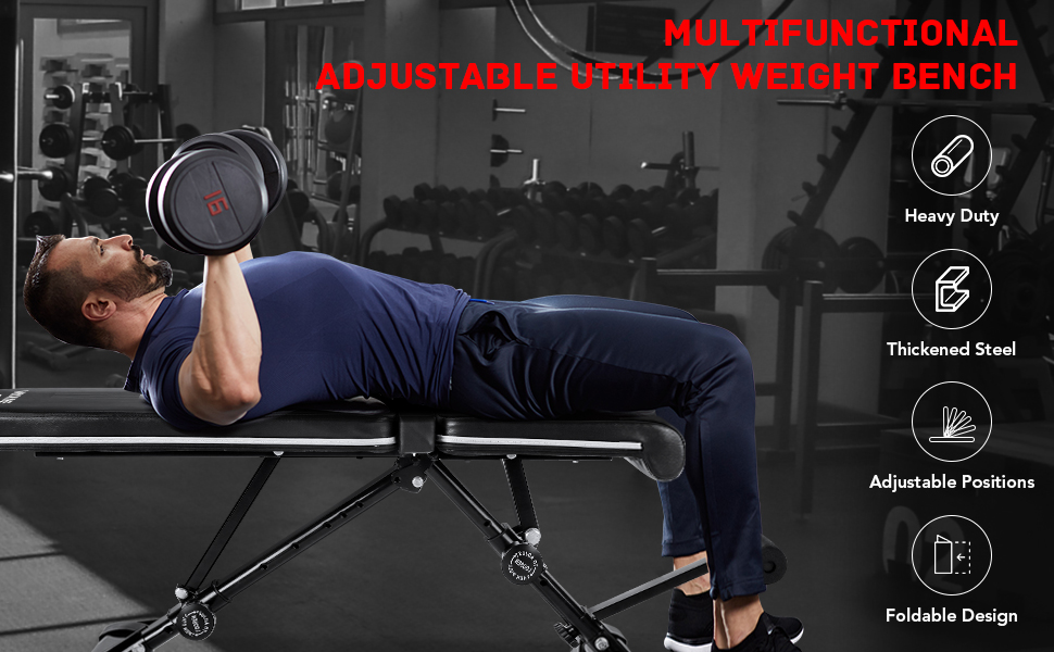weight bench workout work out bench exercise bench adjustable weight bench ab sit up situp bench