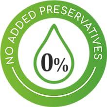 No Added preservatives