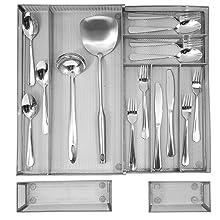 large kitchen drawer organizer