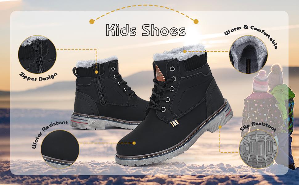big kids little kids snow boots
