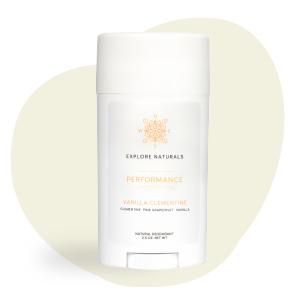 performance, aluminum-free, natural deodorant