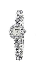 women watch silver rhinestone watches women watch bracelet watches women's wrist watches silver