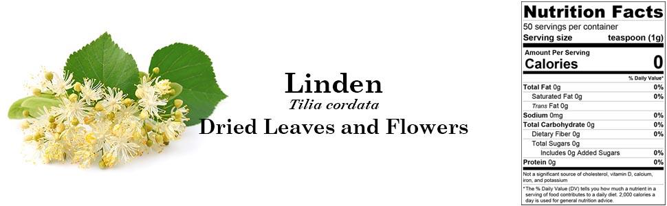 Biokoma Linden (Tilia cordata) Dried Leaves and Flowers 50g 1.76oz