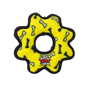 TUFFY Junior Gear Ring Yellow