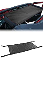 New Style Black Car Roof Top Bed Hammock Car Bed rest For Jeep Wrangler 1987-2021