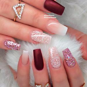 nail tips clear