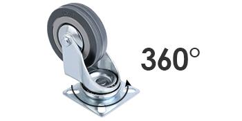 transportwielen 50MM zwenkwielen