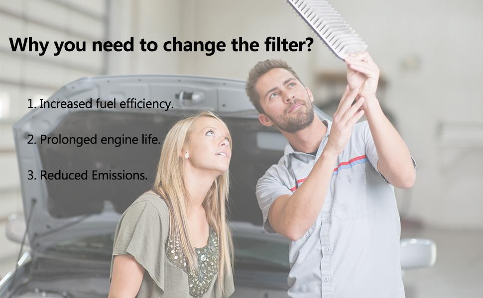 MIKKUPPA KQ005 Engine Air Filter for 2005-2009 Land Rover LR3 Range Rover Sport PHE000112